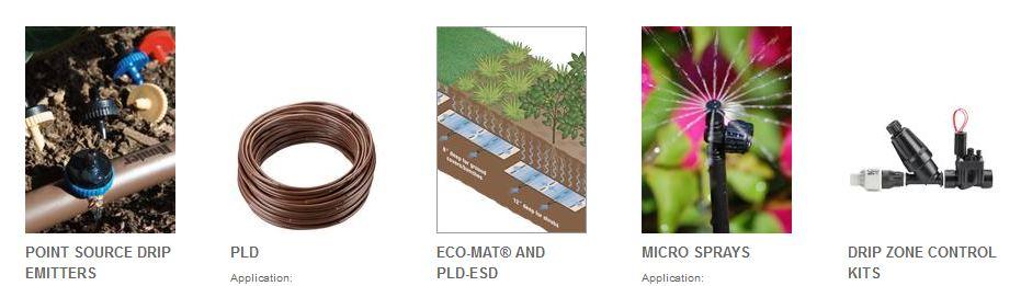Mikro navodnjavanje vrtovi eucaliptus